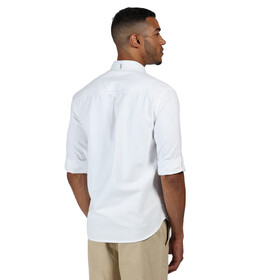 Regatta Banning Camiseta Manga Larga Hombre, white oxford